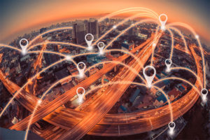 Connectivity in a city