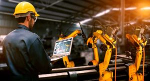 IoT enabled factory using automation software